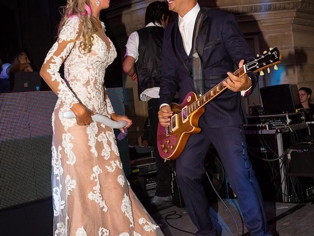 Rafaelle Ruhle e Thiago Marques
