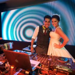 Lygia e Rodrigo